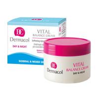 Dermacol Крем смягчающий и восстанавливающий для нормальной и комбинированной кожи Vital Balance