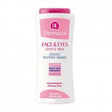 Распродажа Dermacol Очищающее молочко для сухой и чувствительной кожи Face&Eyes Gentle Milk