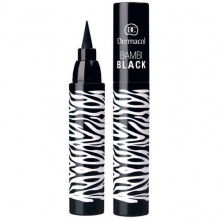 Dermacol Make-Up Black Sensation Устойчивый фломастер для глаз (черный) Bambi Black
