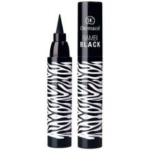 Dermacol Make-Up Устойчивый фломастер для глаз Bambi Black Sensation