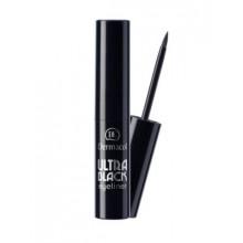 Dermacol Make-Up Подводка для глаз жидкая Ultra Black eyeliner (черная) - Декоративная косметика (арт.2391)