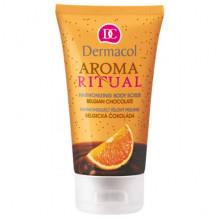 "Dermacol Скраб для тела гармонизирующий ""Бельгийский шоколад"" Harmonizing Body Scrub Aroma Ritual"
