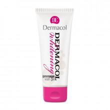 Распродажа Dermacol Отбеливающий гель-гоммаж для умывания лица Gommage Wash Gel Whitening