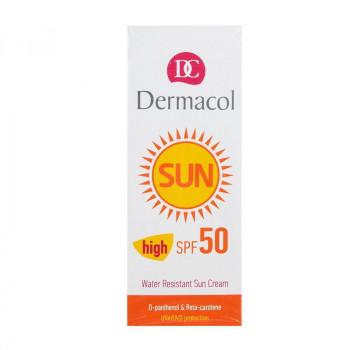 Dermacol Крем для загара SPF 50 водостойкий, смягчающий Sun Cream