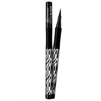 Dermacol Make-Up Black Sensation Подводка-фломастер для глаз водостойкая Precise black (черный)
