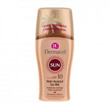 Dermacol Водостойкое смягчающее молочко-спрей для загара SPF 10 Sun Milk