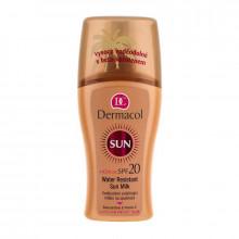 Dermacol Водостойкое смягчающее молочко-спрей для загара SPF 20 Sun Milk