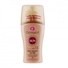 Dermacol Водостойкое смягчающее молочко-спрей для загара SPF 15 Sun Milk