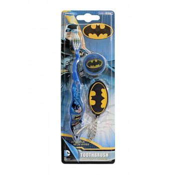 Dr.Fresh Зубная щетка с брелком в упаковке Batman
