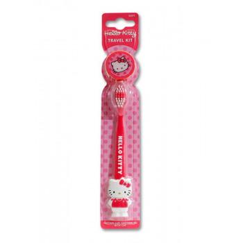 Dr.Fresh Зубная щетка с колпачком и присоской Hello Kitty