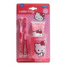 Dr.Fresh Зубная щетка и паста Hello Kitty (набор)