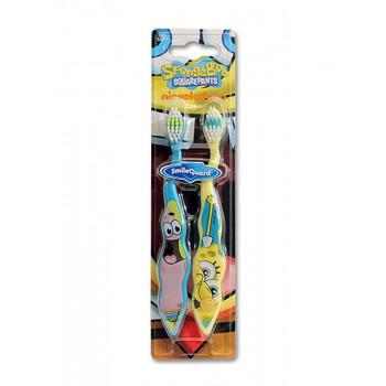 Dr.Fresh Набор зубных щеток Sponge Bob (2 шт)