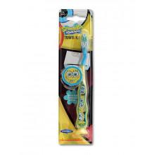 Dr.Fresh Зубная щетка держатель на присоске Sponge Bob