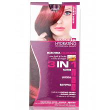 Ing Professional Color Маска для волос тонирующая красный 3в1 с фруктовыми кислотами и маслом арганы
