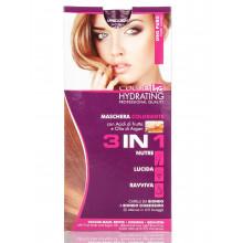 Ing Professional Color Маска для волос тонирующая чистое золото 3в1 с фруктовыми кислотами и маслом арганы