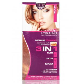 """Ing Professional Тонирующая маска для волос """"Чистое золото"""" 3 в 1 Mask Triple Function"""