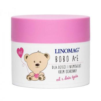 Linomag Детский защитный крем Bobo А + Е