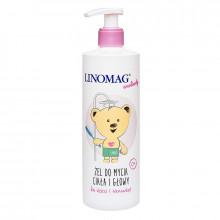 Linomag Детский гель-шампунь для головы и тела