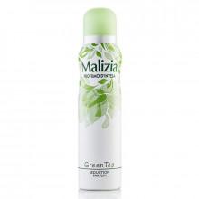 Malizia для женщин Дезодорант парфюмированный Green Tea/Зеленый чай