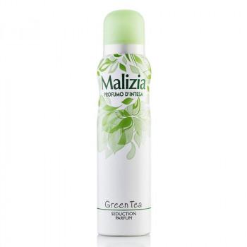 Malizia Парфюмированный дезодорант для женщин Green Tea