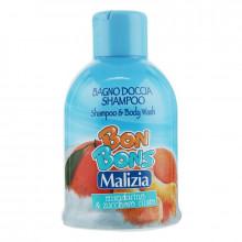 "Malizia Шампунь-гель для душа ""Mandarino & Zucchero Filato"" Bon Bons"