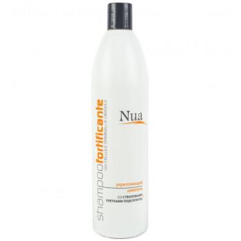 Nua Укрепляющий шампунь со стволовыми клетками подсолнуха