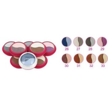 Распродажа Ninelle Двойные компактные тени для век Matte Sensation