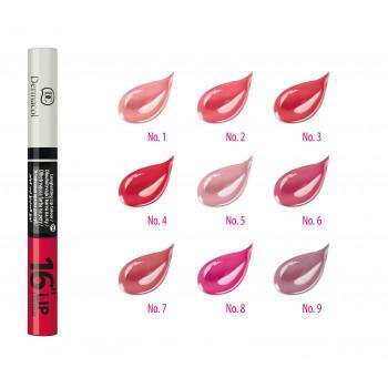 Dermacol Make-Up Стойкая краска для губ 2в1 16H Lip Colour