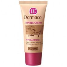 Dermacol Make-Up Toning Cream 2in1 Тональный крем легкий увлажняющий 2в1 - Тональные средства (арт.17356)