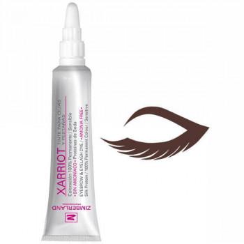 Zimberland Безаммиачная краска для ресниц и бровей с протеинами шелка T-6.77 (коричневый шоколад) Color Xarriot