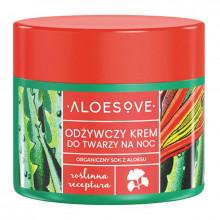 Aloesove Питательный ночной крем для лица с экстрактом сока алоэ