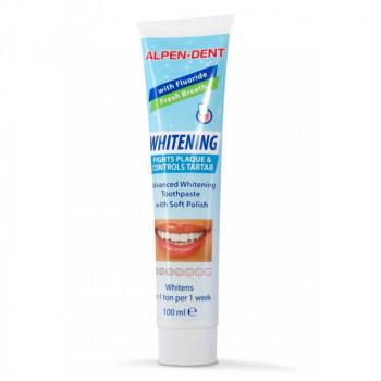 Alpen Dent Отбеливающая зубная паста от налета и зубного камня