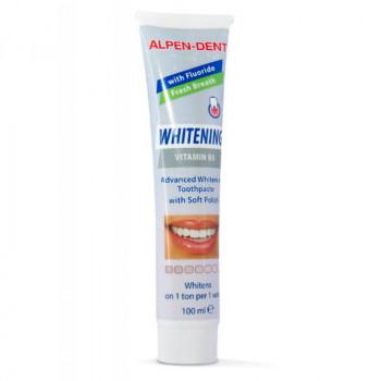 Alpen Dent Зубная паста отбеливающая с витамином В5
