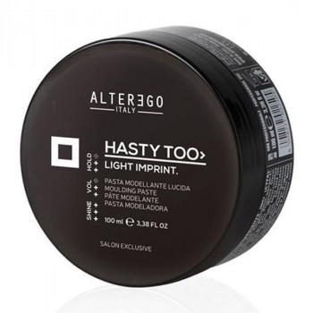 Alter Ego Моделирующая паста для волос средней фиксации Hasty Too Create&Texturise Light Imprint - Уход за волосами (арт.2250)