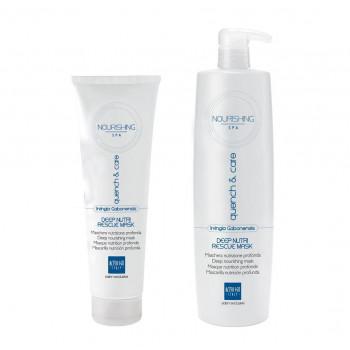 Alter Ego Маска для глубокого увлажнения волос Nourishing Spa Q&C Deep Nutri Rescue Mask - Уход за волосами (арт.2650)