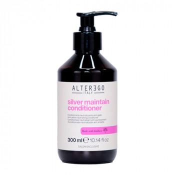 Alter Ego Кондиционер против желтизны окрашенных и светлых волос Length Treatments Silver Maintain Conditioner