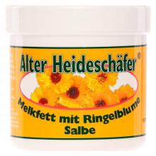 Alter Heideschafer Мазь с календулой заживляющая и успокаивающая Melkfett mit Ringelblume Salbe