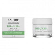 Amore Концентрированный крем для лица с кислотами против черных точек и акне