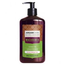 Arganicare Несмываемый кондиционер для сухих и очень поврежденных волос Macadamia