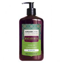 Arganicare Несмываемый кондиционер для кучерявых волос Macadamia
