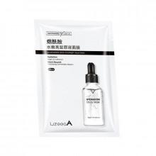 Asian Cosmetics LizeeaA Увлажняющая тканевая маска для лица с ниацинамидом