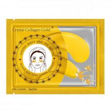 Гидрогелевые патчи под глаза с золотом и экстрактом гнезда ласточки Grystalcollagengold  (2 шт)