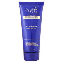 Белита - Витэкс Восстанавливающий детокс-бальзам для волос Night Care