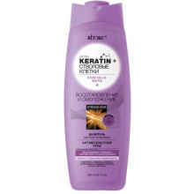 """Белита - Витэкс Keratin&Стволовые клетки Шампунь для всех типов волос """"Восстановление и омоложение"""""""
