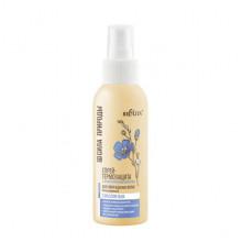 Белита-Витэкс Cпрей-термозащита с маслом льна для поврежденных волос с антистатическим эффектом несмываемый Сила Природы