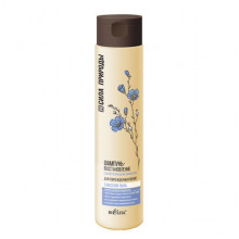 Белита-Витэкс Шампунь-восстановление с маслом льна для поврежденных волос с антистатическим эффектом Сила Природы