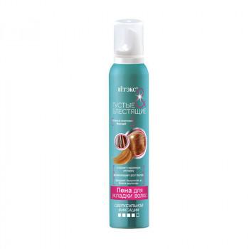 Белита-Витэкс Пена для укладки волос сверхсильной фиксации Густые и блестящие