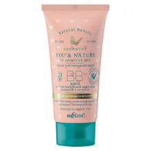 Белита - Витэкс BB-крем для чувствительной кожи лица, склонной к куперозу SPF 20 You&Nature