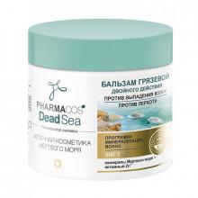 Белита - Витэкс Грязевой бальзам двойного действия против перхоти и выпадения волос Pharmacos Dead Sea