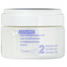 """Белита-М Бальзам восстанавливающий для ослабленных и поврежденных волос """"Keratin"""""""